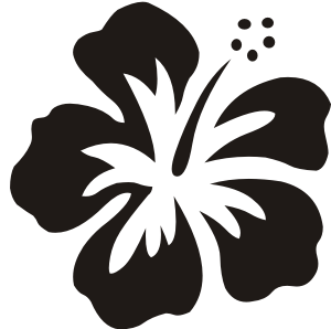 Hawaiian Flower Graphics