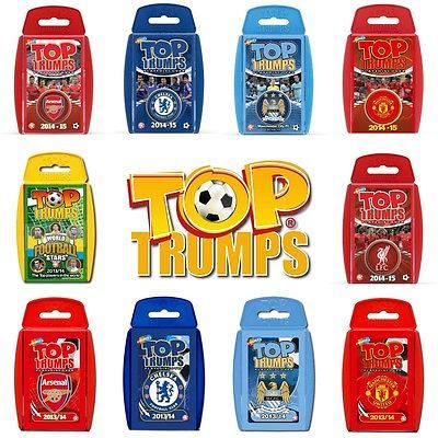 Brand new top trumps card game - #choose your #favourite football #packs,  View more on the LINK: http://www.zeppy.io/product/gb/2/251882214557/