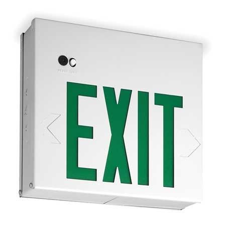 Acuity Lithonia Exit Sign With Battery Backup