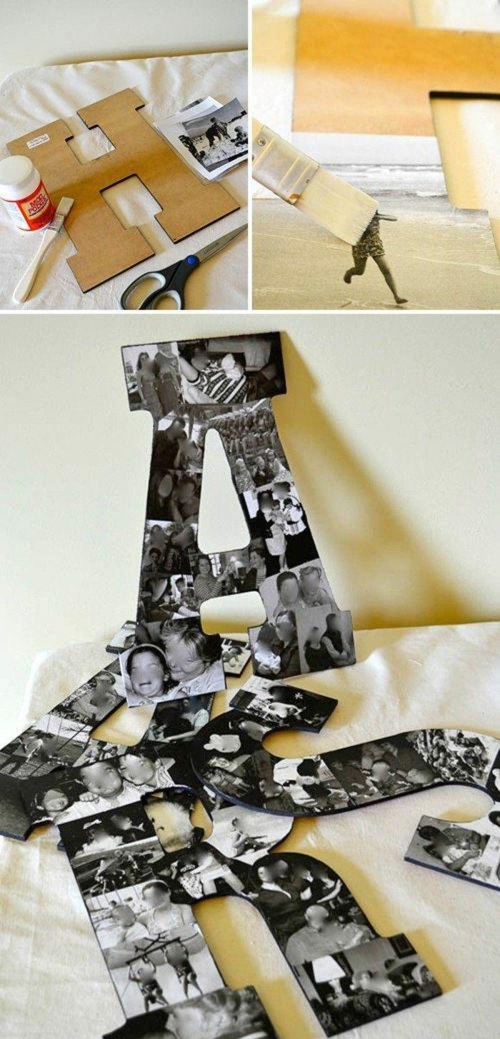 wanddeko selber machen 68 tolle ideen f r ihr zuhause mullins new years eve pinterest. Black Bedroom Furniture Sets. Home Design Ideas