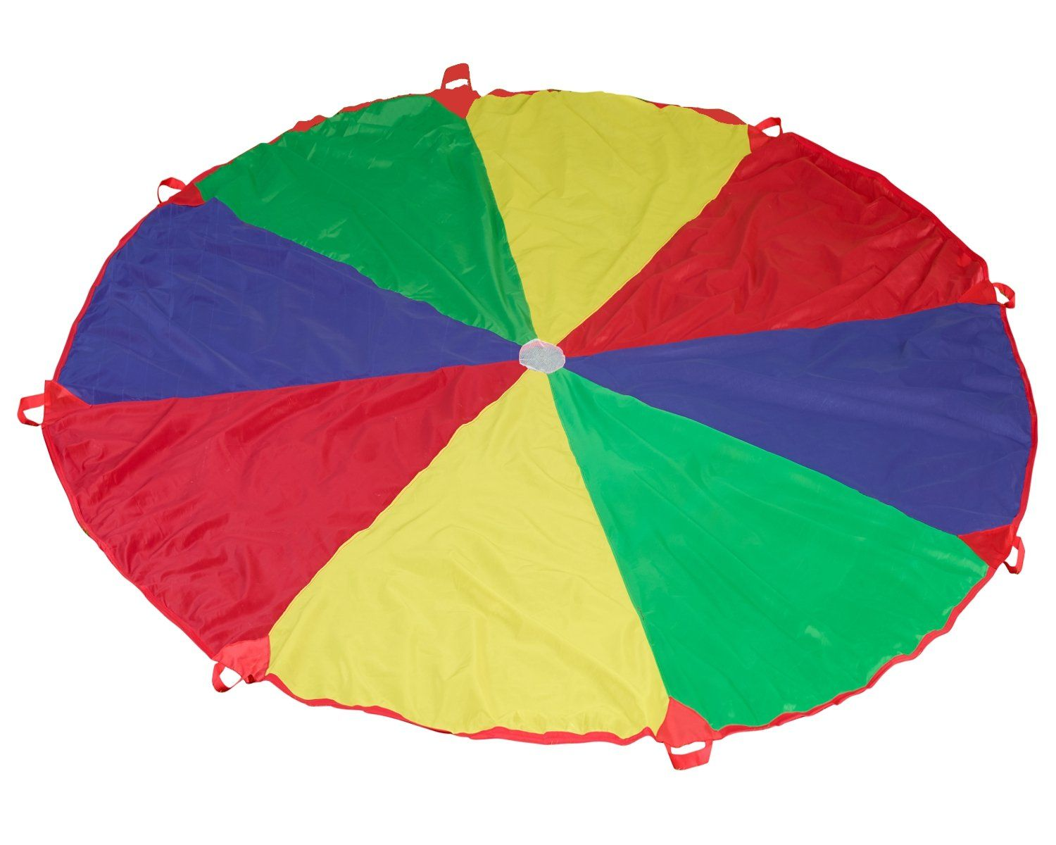 12 feet parachute with 8 handles