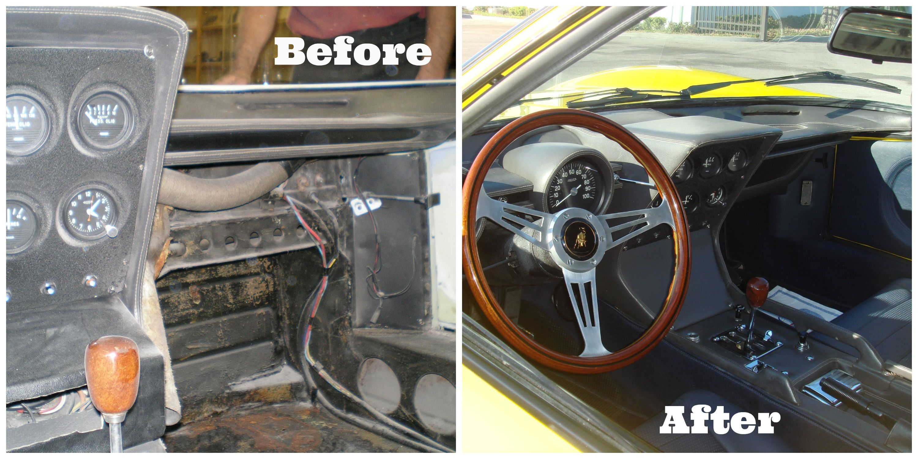 Before and After our Body Shop work