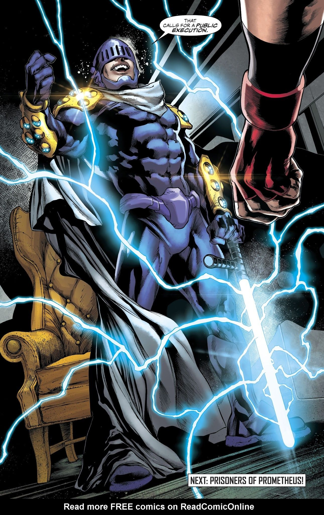 Prometheus#8 | TOP 10 | Comic character, Dc comics, Dc