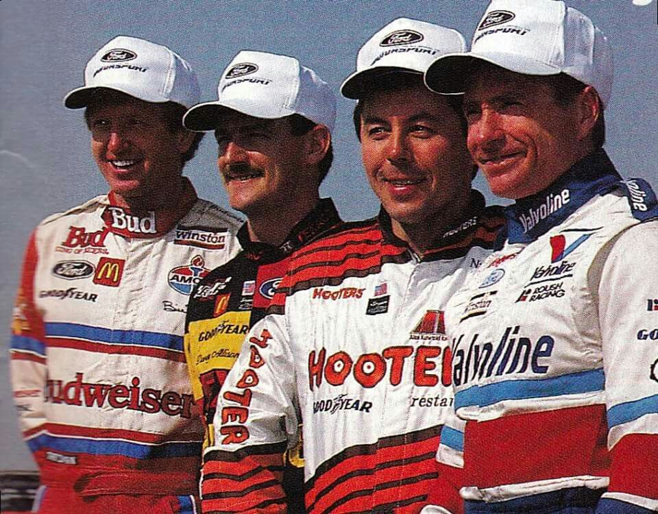 Hope Everyone Enjoys This Awesome Dale Jr Wallpaper I: Four Of Ford's Best Drivers Ever.. Mark Martin, Alan