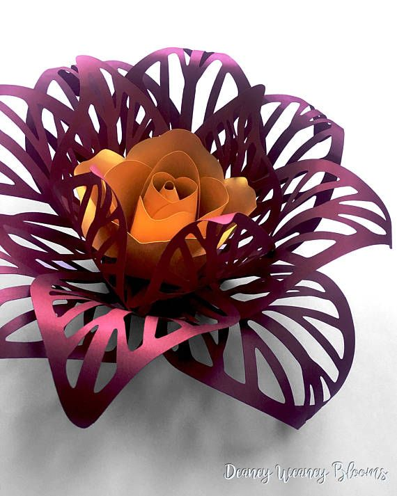 Pin On Giant Paper Flowers