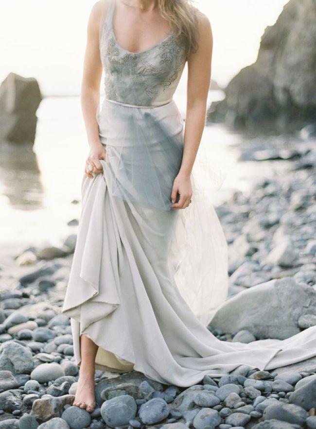 10 Grey Wedding Dress Ideas | Grey weddings, Dress ideas and Wedding ...