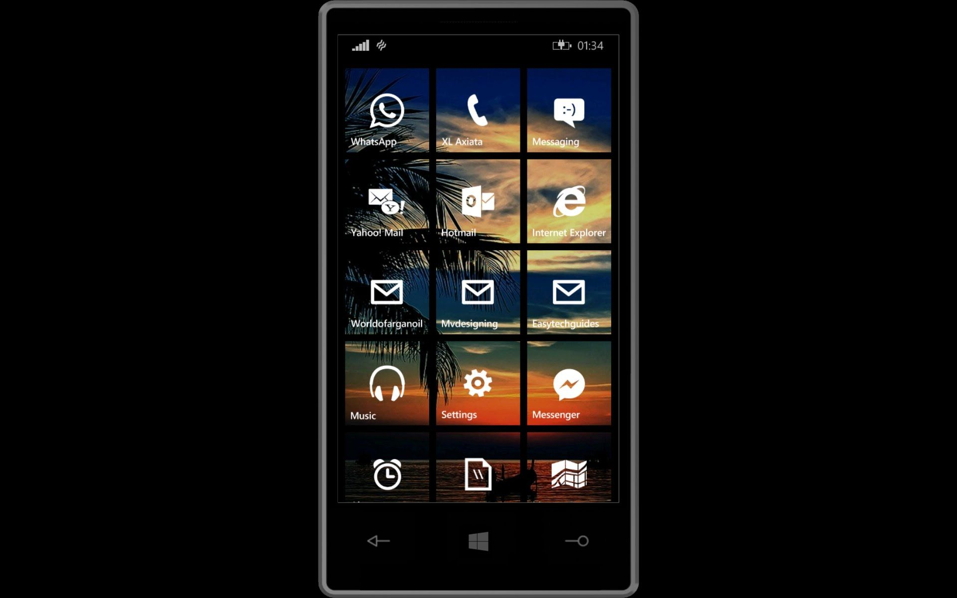 How to Change a Whatsapp Chat Background on Nokia Lumia