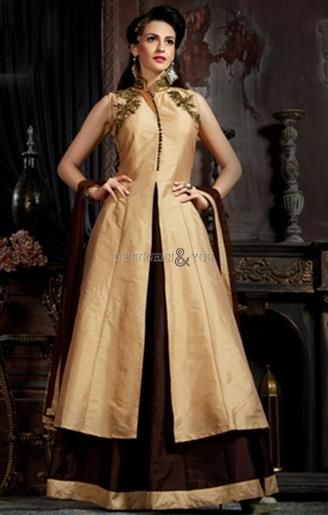 Designer Indo-Western Gowns With Different Style Online India For ...