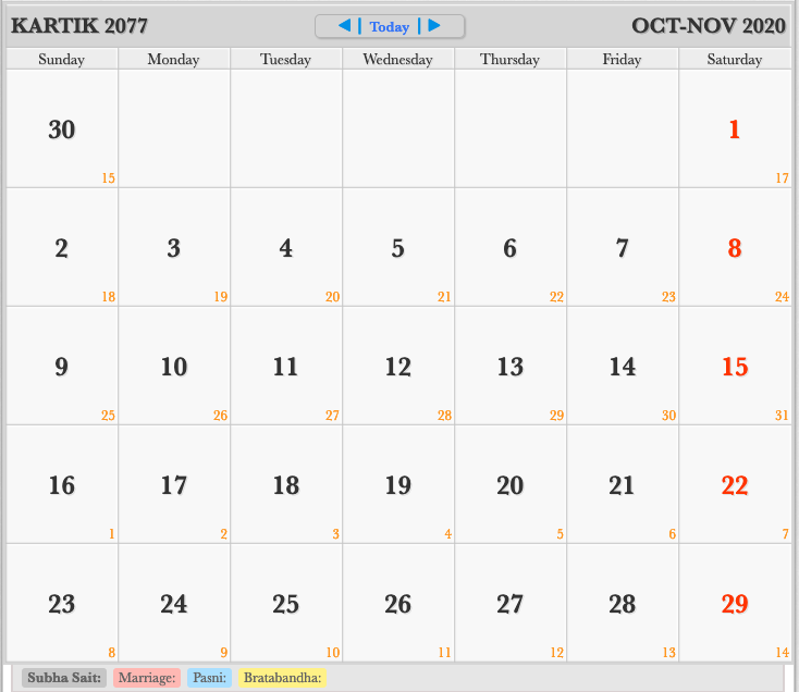 Nepali Calendar 2021 Pin on 2020 Monthly Calendar
