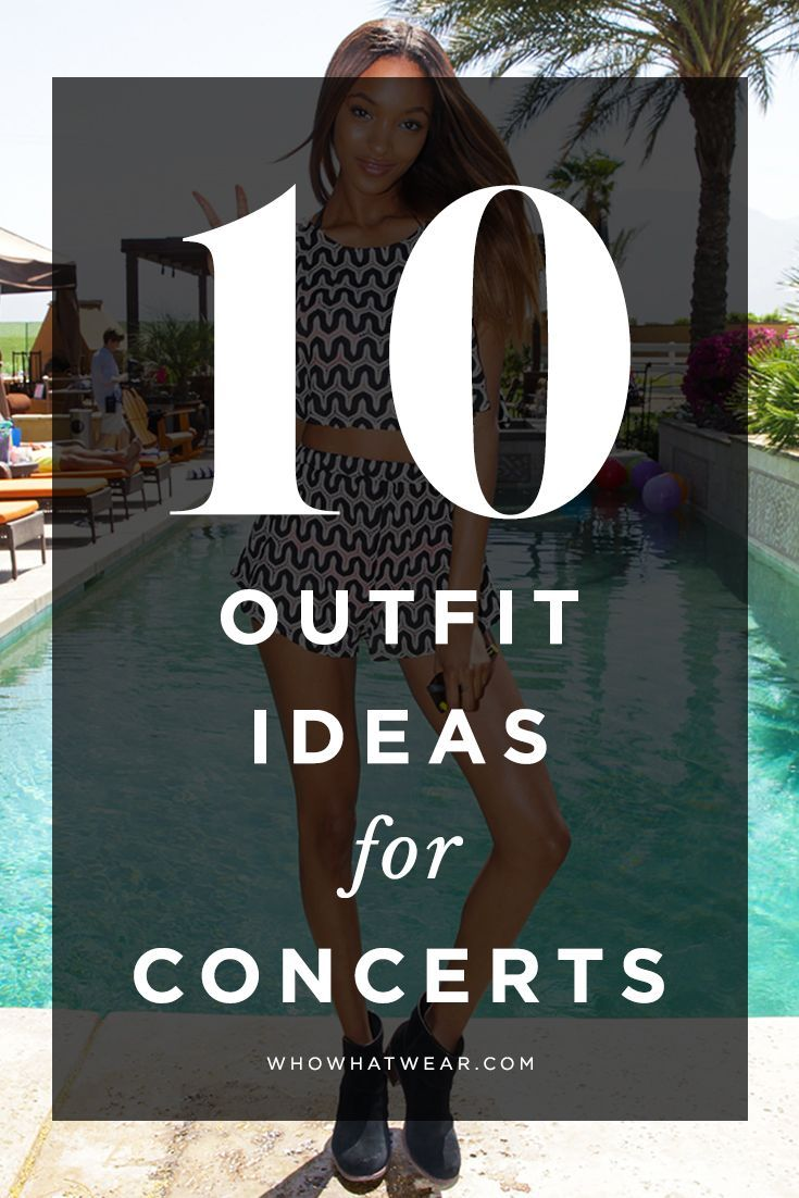 5 Effortlessly Cool Outfit Ideas to Wear to a Concert