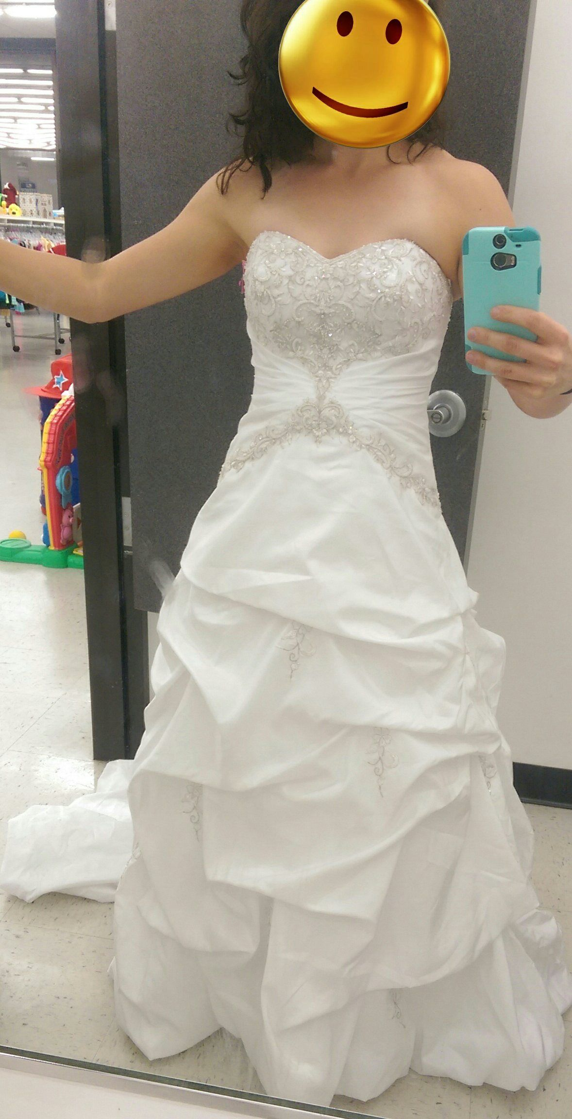 Recently Engaged And Found This Dress In Great Condition At Goodwill