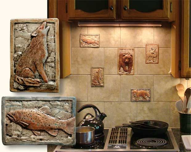 Handmade Decorative Tiles Beauteous Bathroom And Kitchen Backsplash Tile Installation Handmade Design Decoration