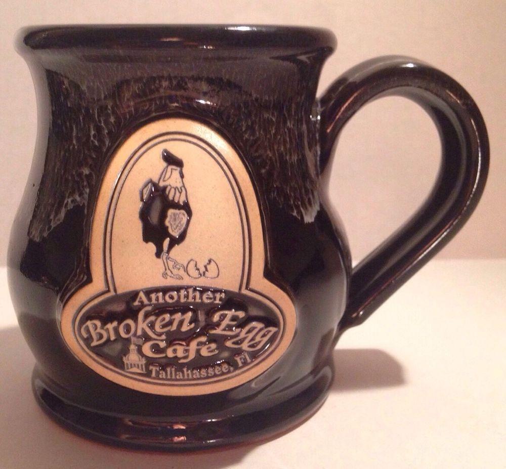 Deneen Pottery Handthrown Another Broken Egg Cafe Mug