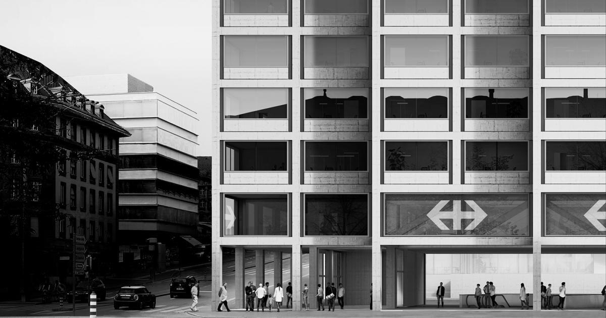 Im Rahmen der Entwicklung Zukunft Bahnhof Bern soll auf dem ...