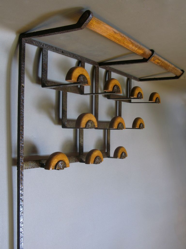 French Art Deco Coat Hat Rack With Matching Umbrella Stand 1stdibs Com Umbrella Stand Hat Rack French Art Deco