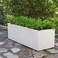 Jardinera rectangular de 1 metro JARA exteriores #patiodepapas