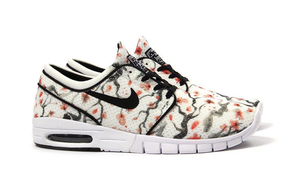 da43749d249 This Nike SB Stefan Janoski Max PRM Features a Beautiful Cherry Blossom  Print