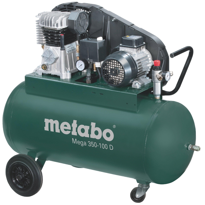 Compresseur De Chantier Metabo 90 L 3 Cv 350 100 D Compresseur Pression Des Pneus Machine Outil