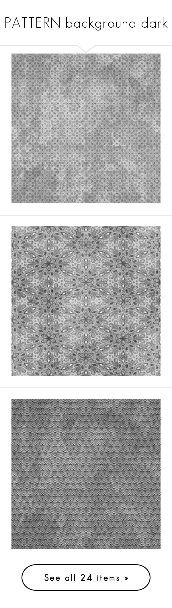 """""""PATTERN background dark"""" by ohblack on Polyvore featuring backgrounds, effects, overlay, patterns, textures, patterns & overlays, borders, picture frame, wallpaper e filler"""