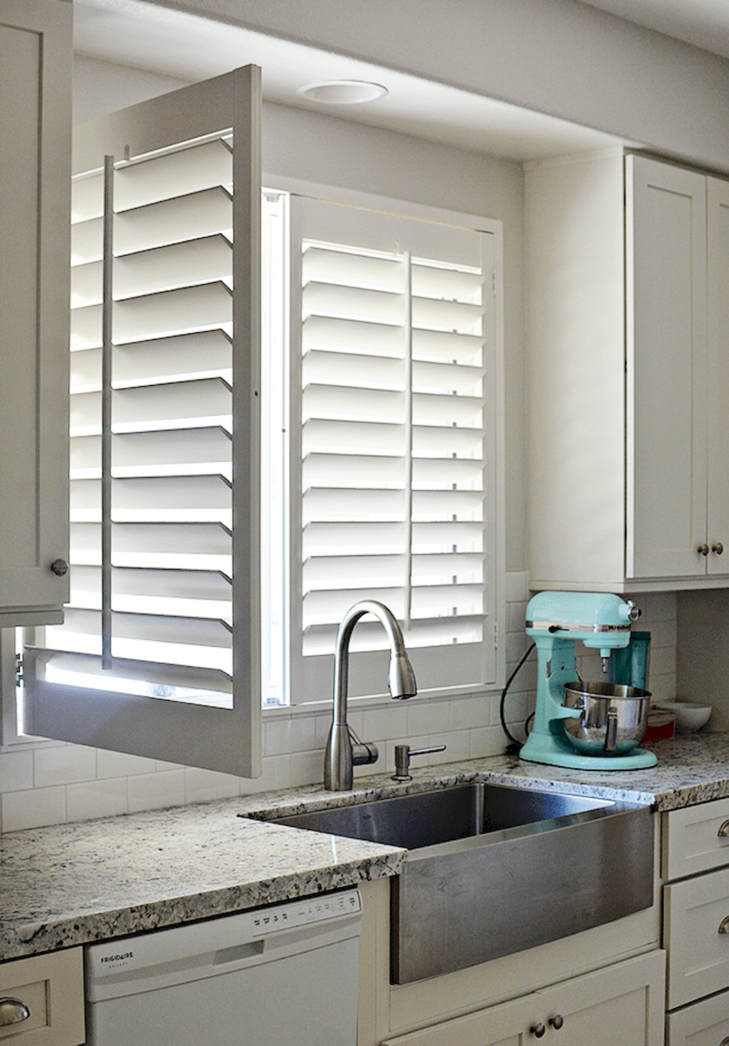 Kitchen Window Treatments Ideas For Less Kitchen window