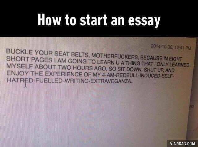 trying to write essay on random subject at am follow gag   trying to write essay on random subject at 4am follow 9gag 9gagmobile