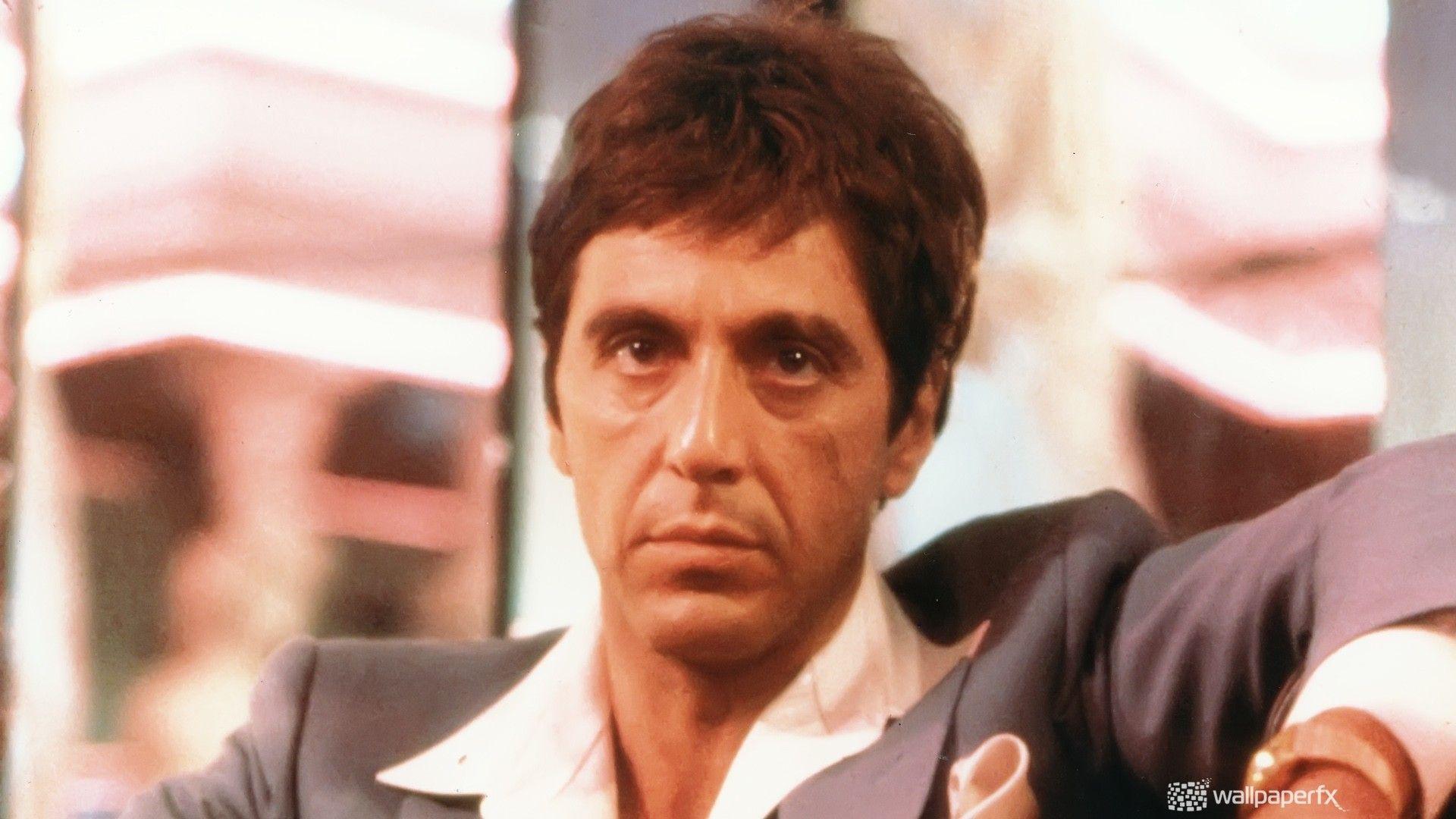 movies people Scarface actors Al Pacino Tony Montana