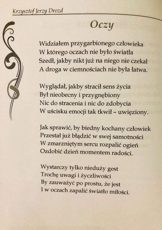 Pin About Wiersze I Poezja On Pisane Przez