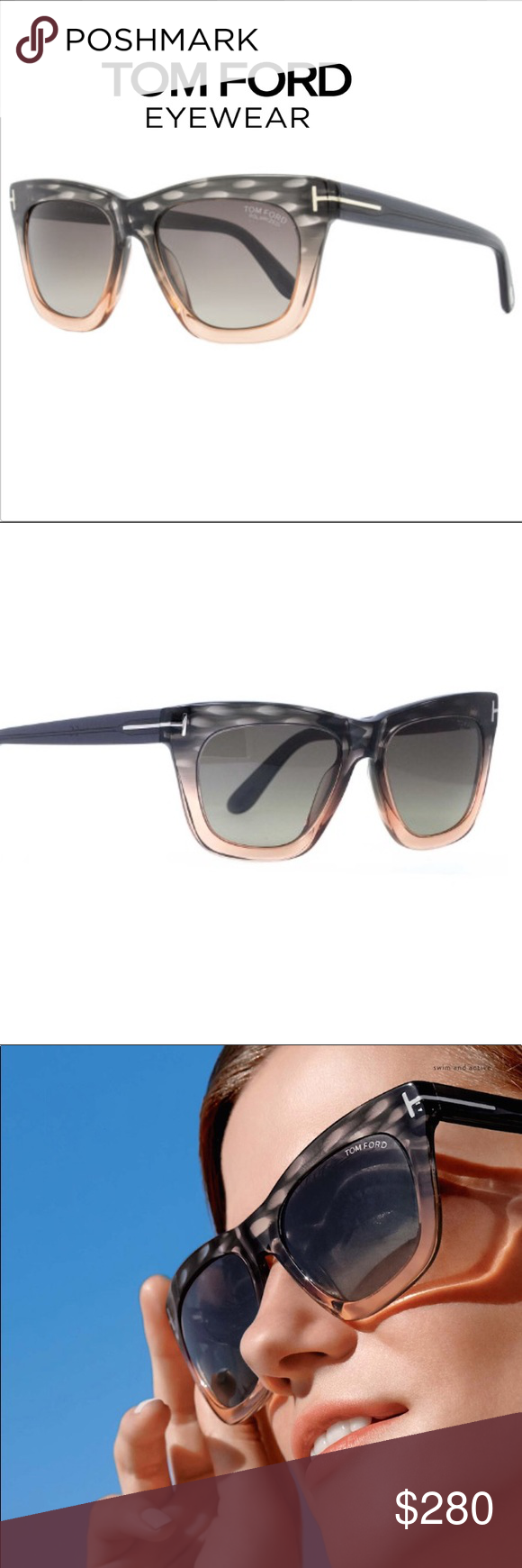 72c524b7bbae Authentic Tom Ford CELINA Sunglasses •100% Authentic •Brand New •Sunglasses Tom  Ford