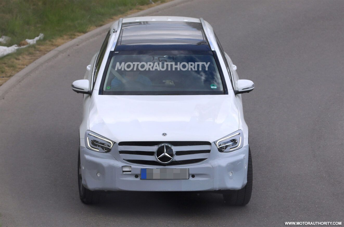 The 2021 MercedesBenz GLC is about to get here