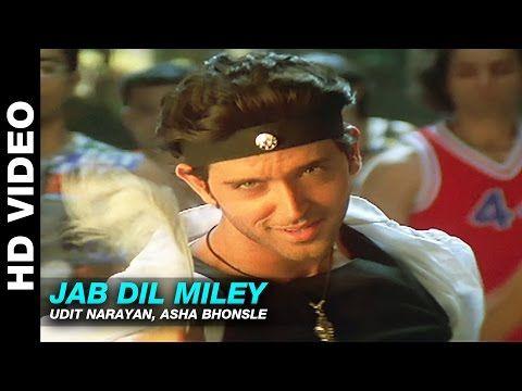 Jab Dil Miley Yaadien Udit Narayan Asha Bhonsle Hrithik Roshan Kareena Kapoor Youtube Udit Narayan Hrithik Roshan Miley
