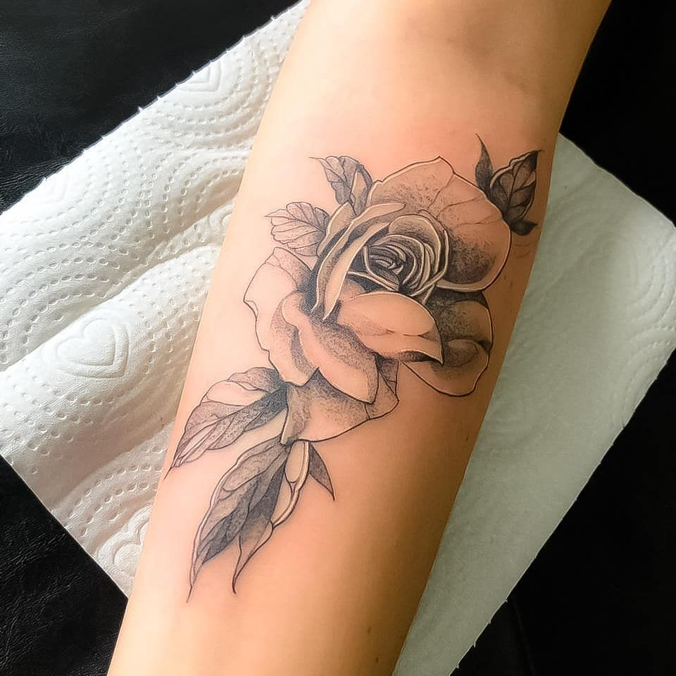 23 Rose Tattoo Idea Help Pretty Women Personalize Rose Tattoos