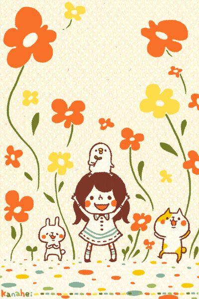 暖上心頭的日本插畫家 カナヘイkanahei 62icon カナヘイ