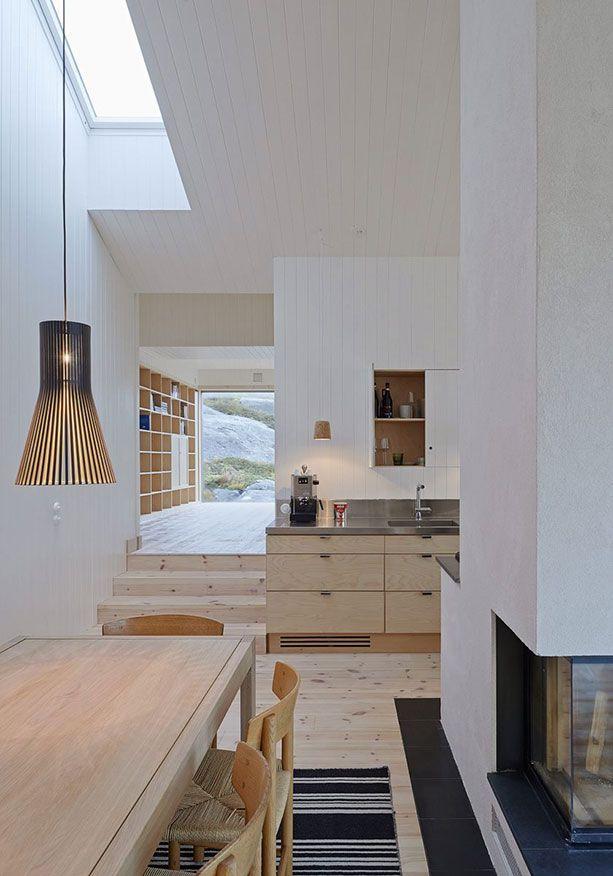 Autre vue chemin e centrale ideas in 2019 maison agencement interieur interieur maison - Cheminee interieur maison ...
