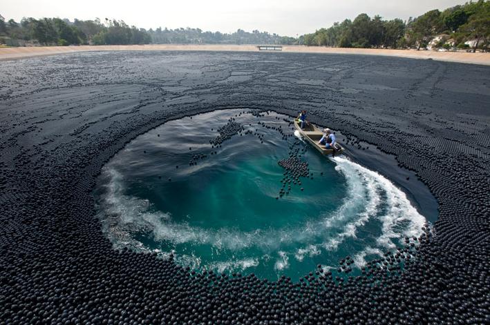 Plastic balls- counteracting high levels of bromate.  Google Image Result for http://www.tumblr.com/photo/1280/fixator/621931277/1/tumblr_l06ggyu3v91qzw5wj