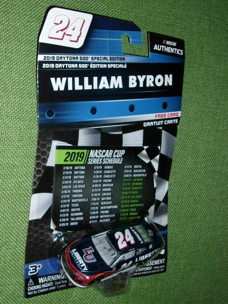 Lionel Racing William Byron #24 Liberty University 2019 Chevrolet Camaro NASCAR Diecast 1:64 Scale