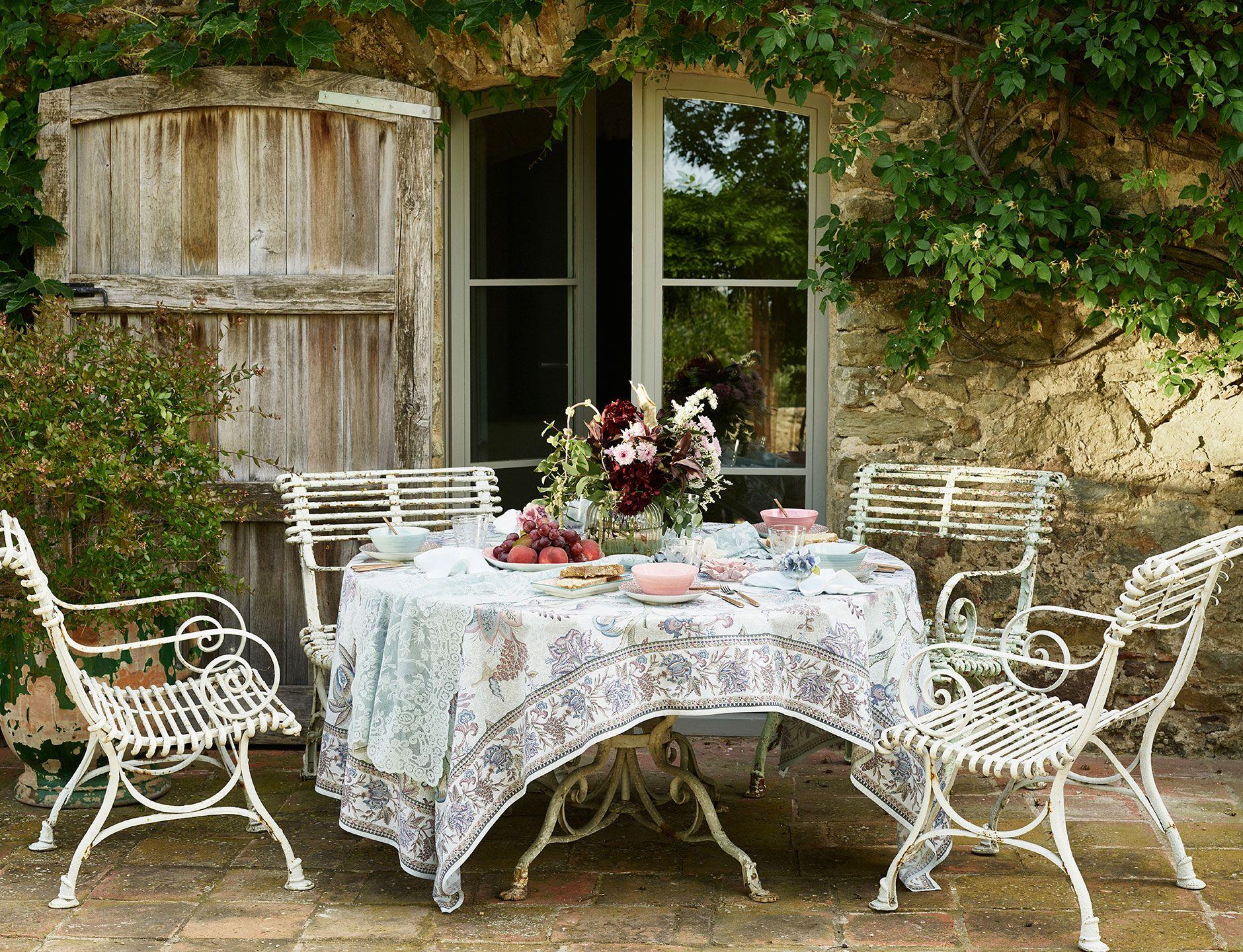 Lookbook новой коллекции от ZARA Home - осень 12  Outdoor