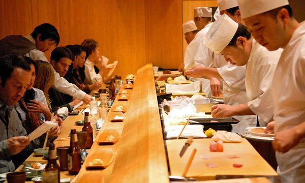 Quiet Please Sushi Being Served Nyc Restaurants York Restaurants Restaurant New York