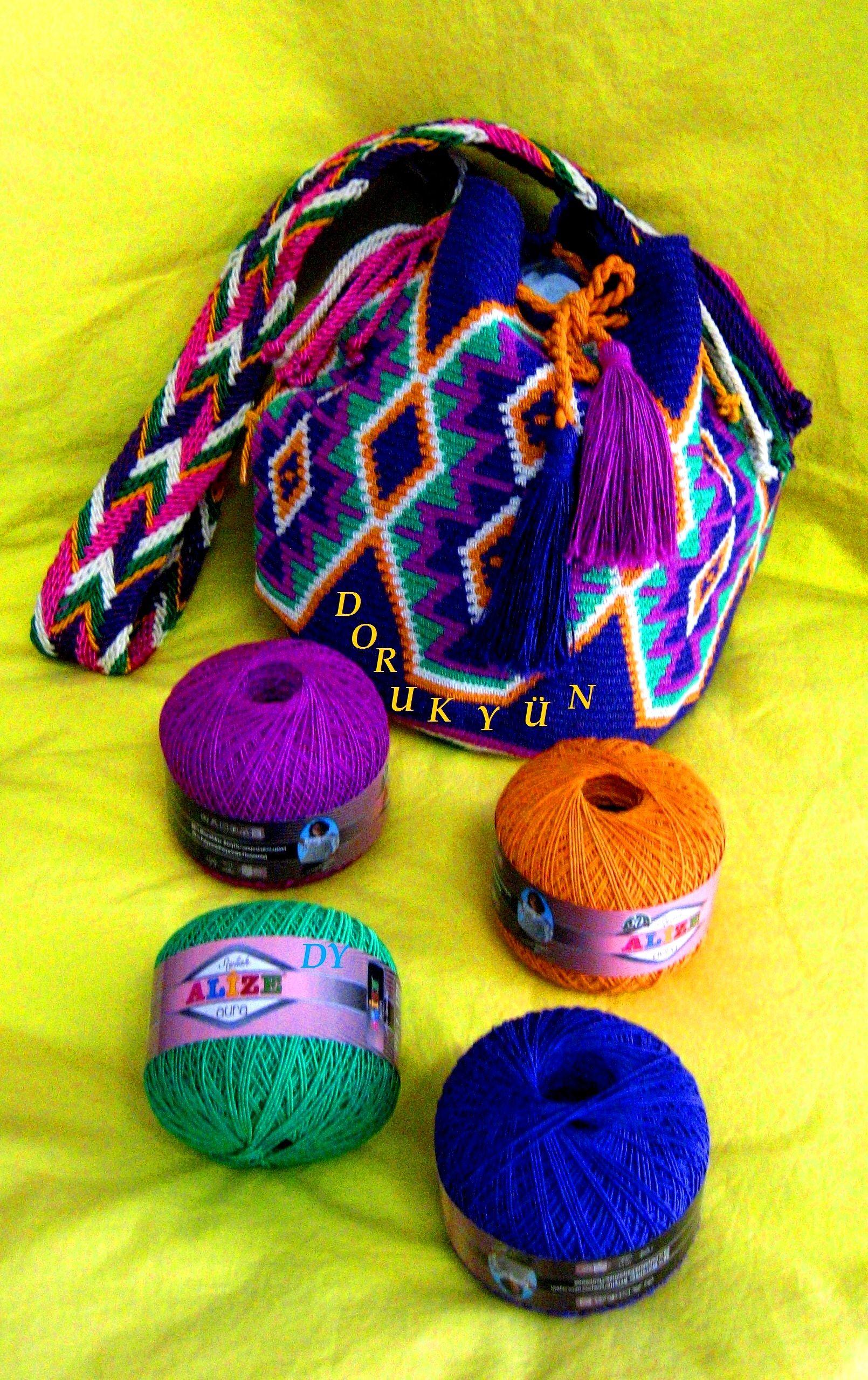 Pin von medea auf bags and baskets | Pinterest | Gehäkelte taschen ...
