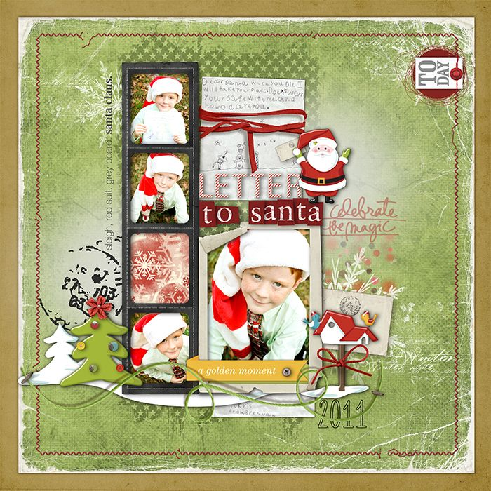 so cute Santa letter, Dear santa, Holiday cheer