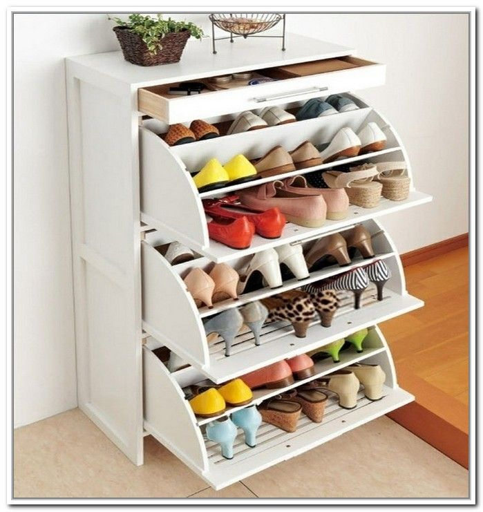 Image Of Cool And Fancy Shoe Racks Small Apartment Decorating