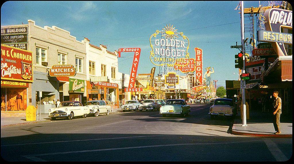 Fremont Street, Las Vegas 1955 | by ElectroSpark