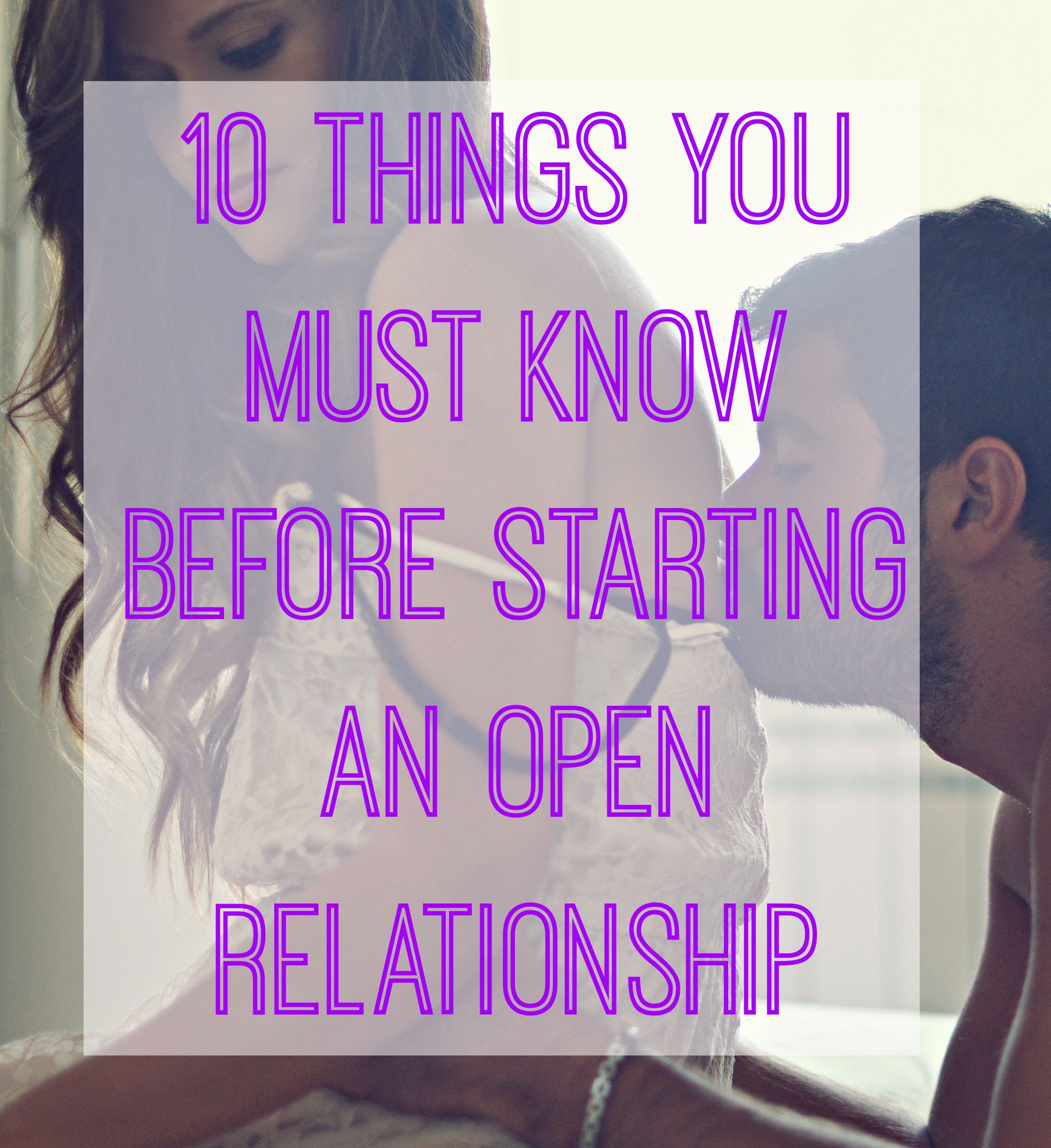 How To Be Open In A Relationship