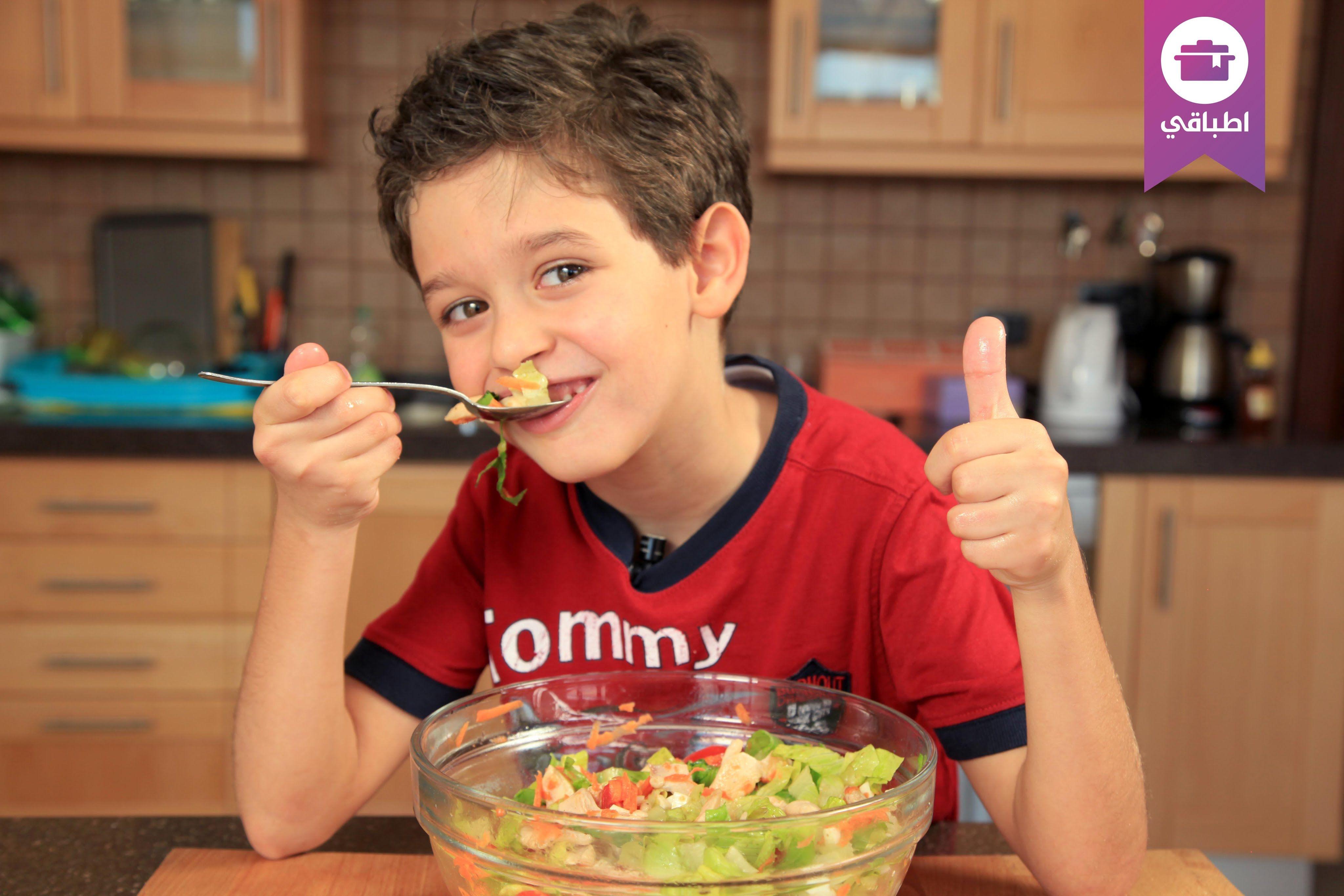 وصفة سلطة الدجاج الصحية مع الطفل جعفر Food Acai Bowl Breakfast