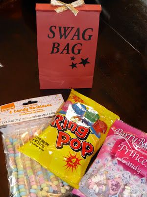 teen party ideas goodie bag boys girls candy birthday party