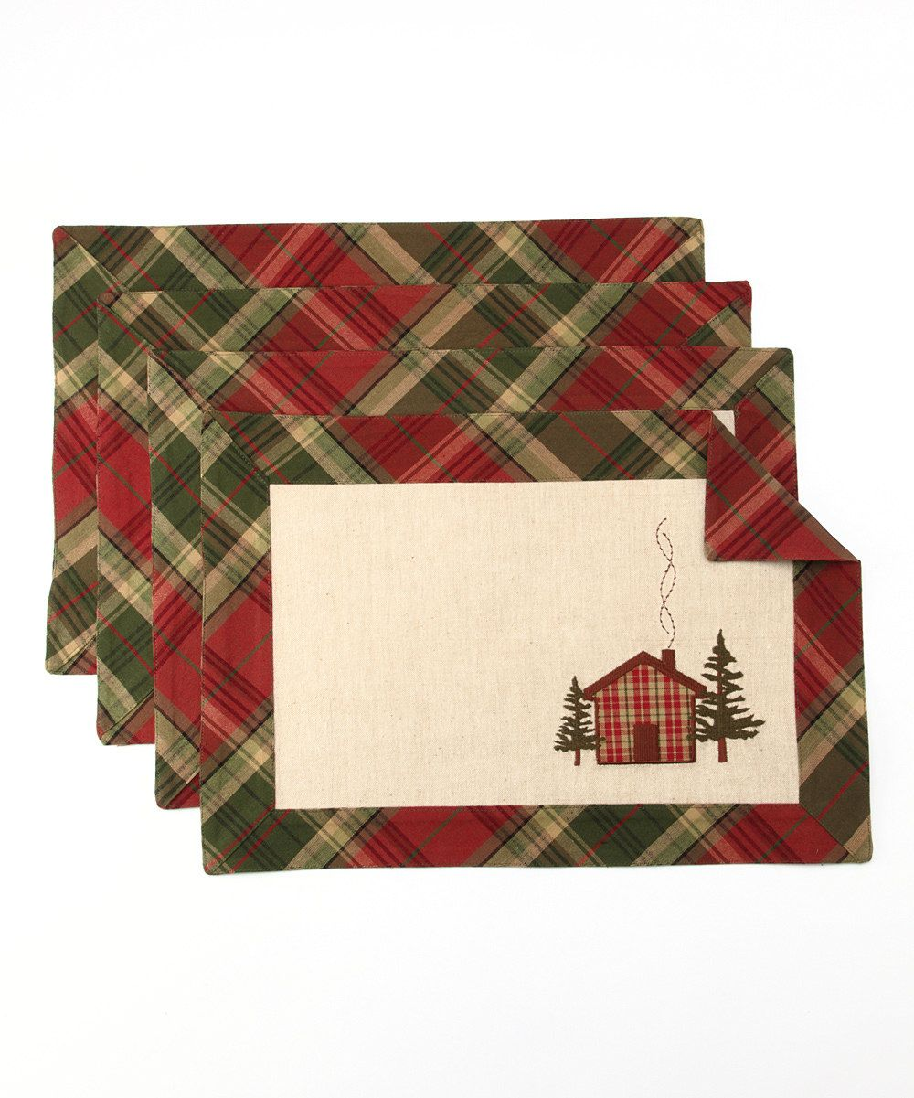 Cabin Fever Place Mat - Set of Four