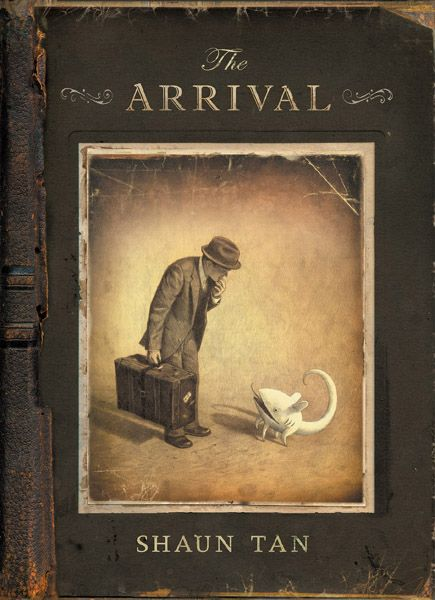 Shaun Tan - The Arrival. Another great book in terms of visual literacy and intriguing illustrations for creative writing starters.