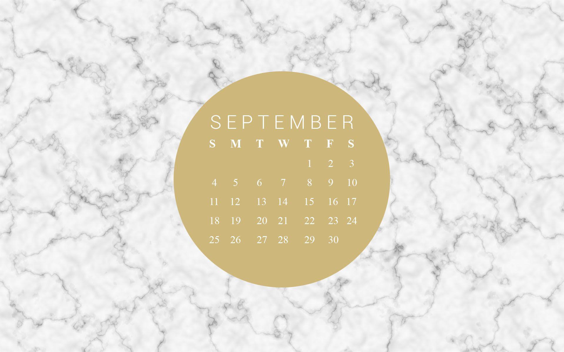 Free September Desktop Wallpaper Calendar Wallpaper September Wallpaper September Calendar