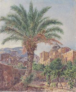 Rudolf Von Alt - Die Kathedrale von Capri