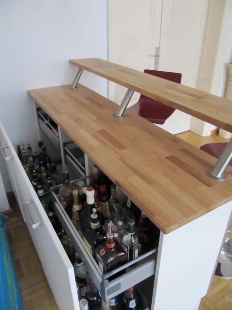 Cheers Its An Illuminated Bar Handyman Küche Theken Und