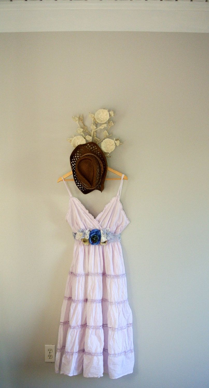 Plus size woman\'s dress, romantic country chic dresses, shabby maxi ...